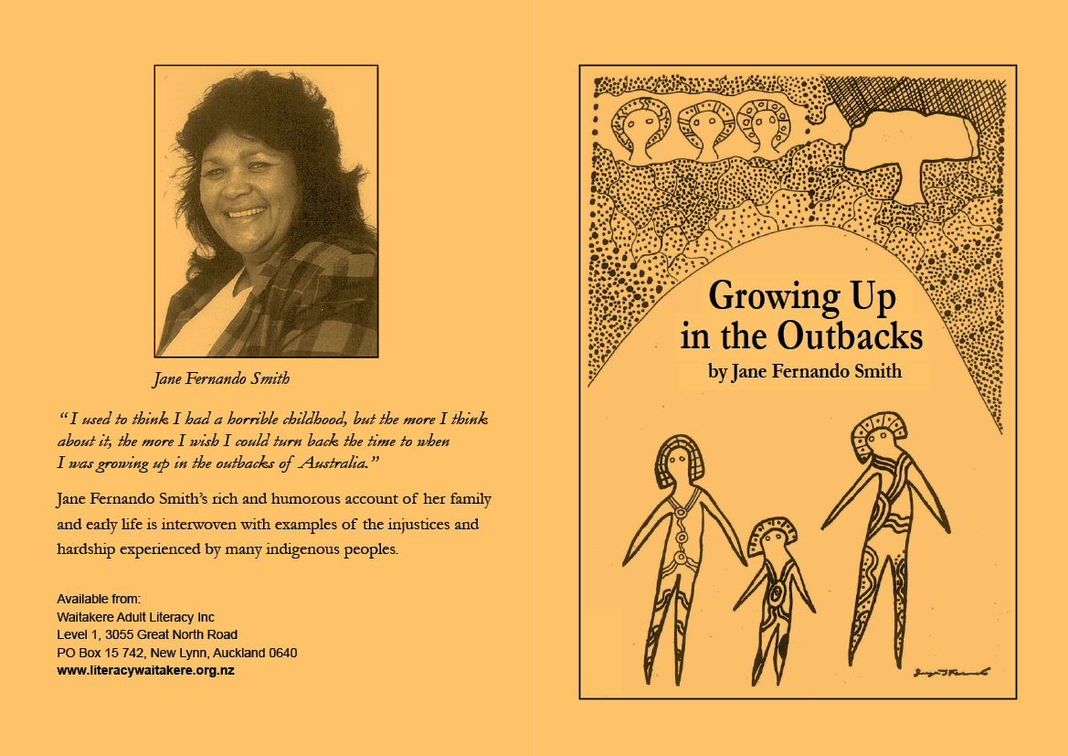 Growing up in the Outbacks written by Jane Fernando Smith